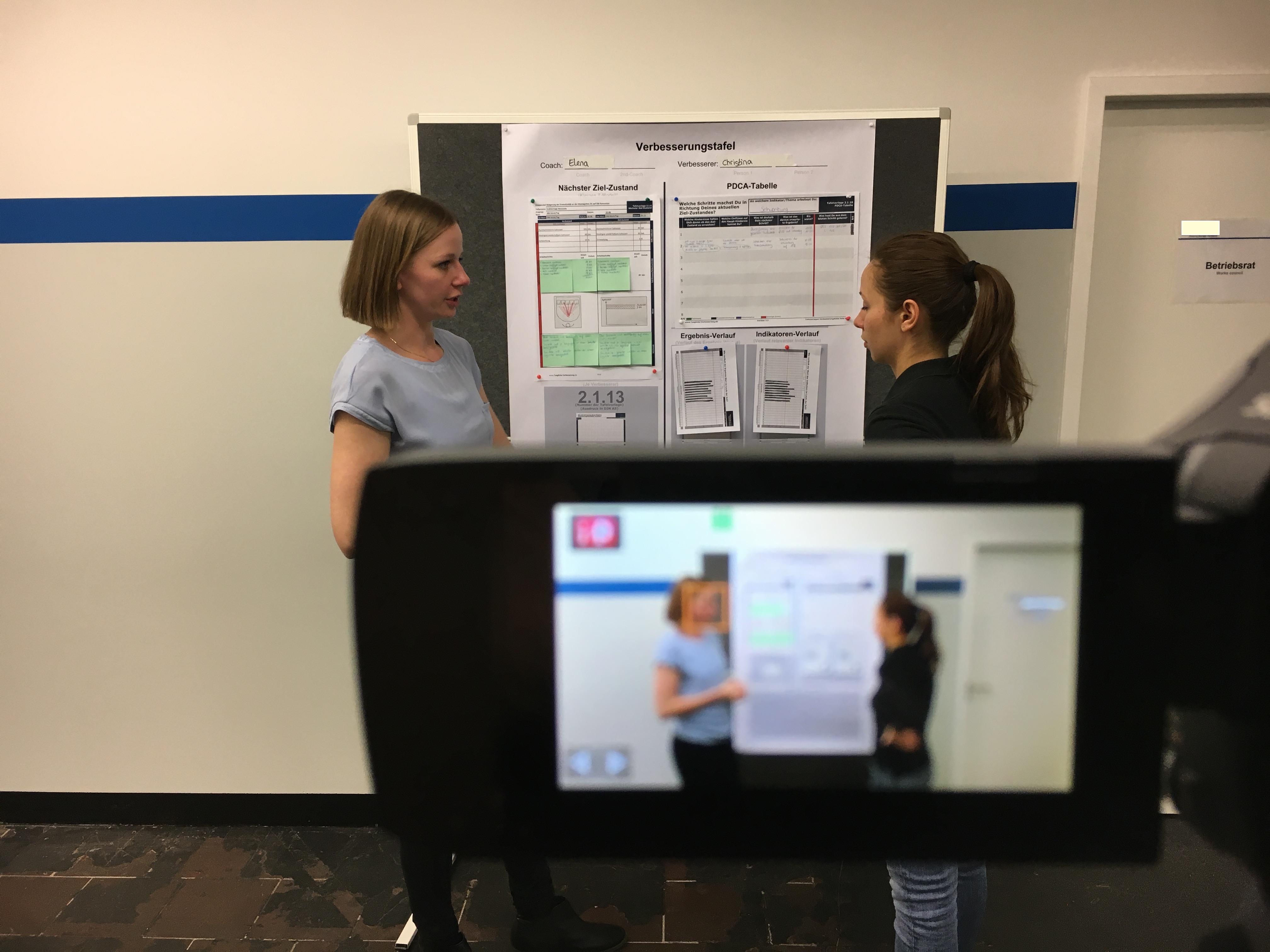 Video Coachinggespräch Admin